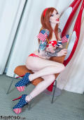 American patriot girl CANDY celebrating 4th of July