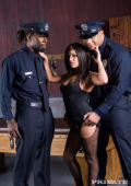 Hot Michelle gets interrogated by some cops