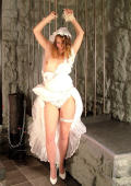 Bride in dungeon punished