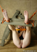 pics of a girl chained up
