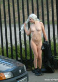 Public nudism in the streets of Manchester