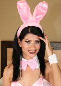 Nice pink easter bunny strips