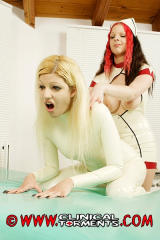 Red haired Latex Nurse 11
