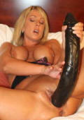 Big black pussyblaster for blond milf