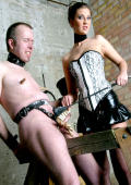 Painfull slaveboy training and this slave is really ambitious