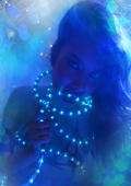 Blue lightchain model Stacy