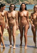 perfect models wearing the smallest bikinis on earth- pictures and videos are taken in public places and on public beaches