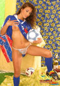French football lady