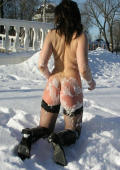 Cool ass in the snow