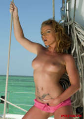 Yachtgirl Rose topless