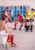 Amateur Football groupsex Fun
