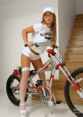 Biking superstar gets her sexual education