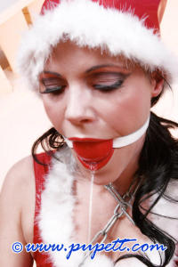 Hot and kinky Christmas girl PUPETT 10